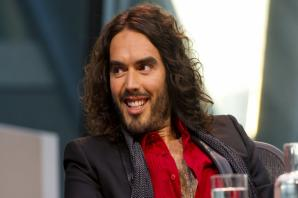 Russell Brand spotted at Somerset show