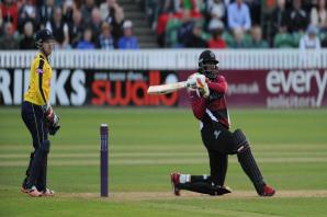 CRICKET: Chris Gayle going for NatWest T20 Blast gold with Somerset
